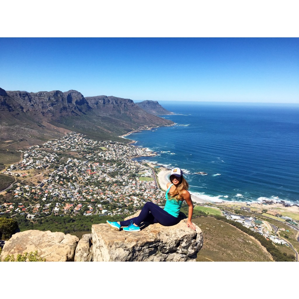 At the summit of Lion's Head