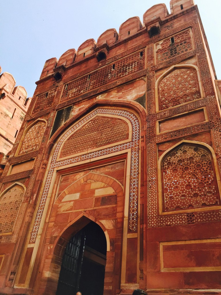 This gorgeous red sandstone walled city is still used by the Indian military.