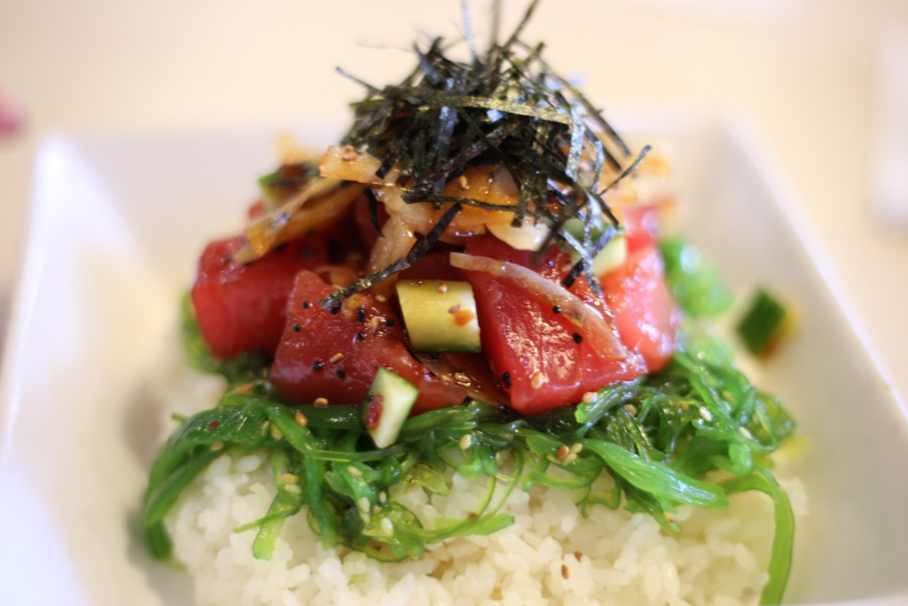 More ahi tuna poke for lunch